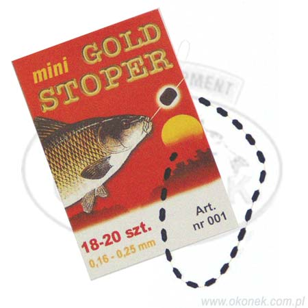 Stopery Gumowe Gold Mini