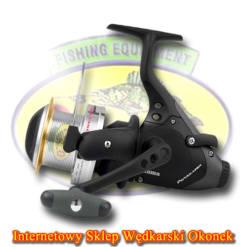 Okuma Kołowrotek Power Liner Long Cast Baitfeeder 60