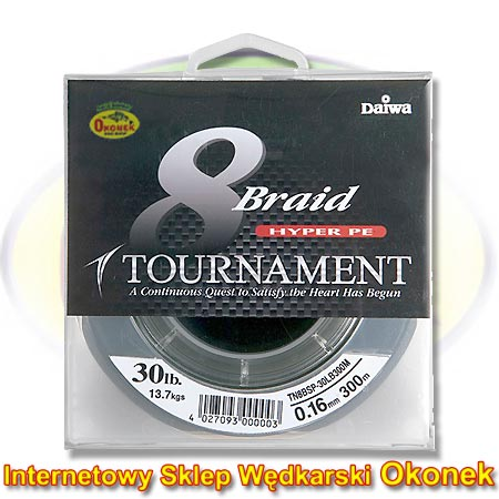 Daiwa Plecionka Tournament 8XBraid Braided Line