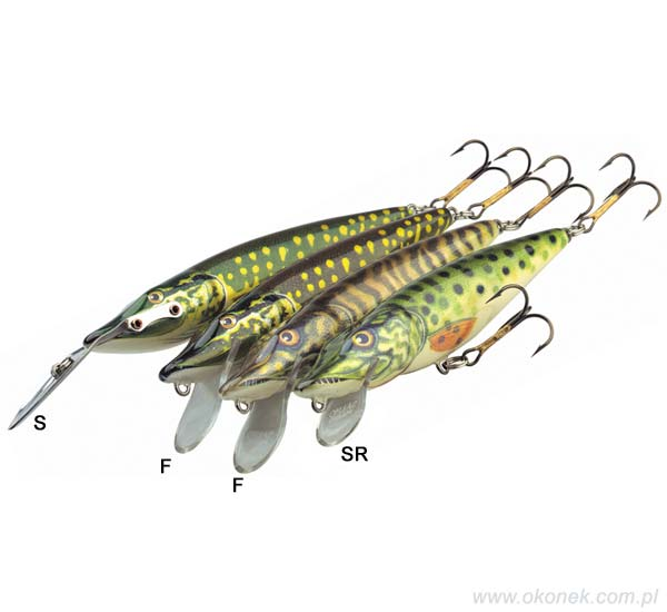 Salmo Wobler Pike 16 cm