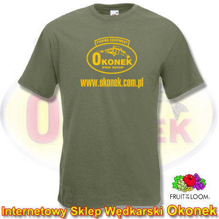 Fruit of the Loom Koszulka T-Shirt OKONEK - Classc Olive XL