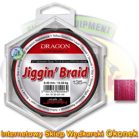 Dragon Plecionka Jiggin' Braid (Toray)