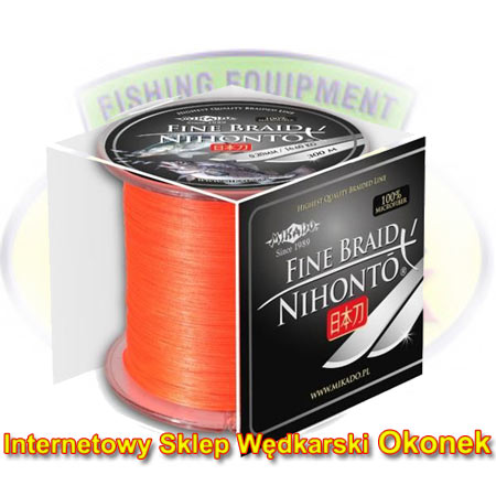 Mikado Plecionka Nihonto Fine Braid Fluo Orange 300m