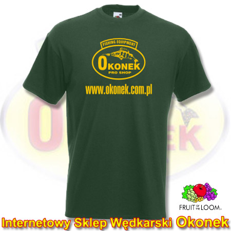Fruit of the Loom Koszulka T-Shirt OKONEK - Bottle Green L